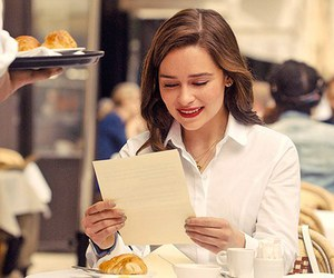me before you, emilia clarke, and louisa clark image