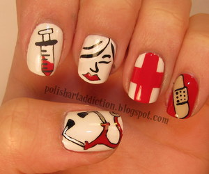 nails and nurse image