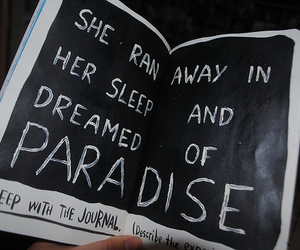 paradise, quote, and coldplay image