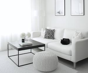 decor, white home, and decoration image