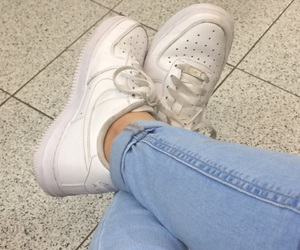 air force, nike, and white image