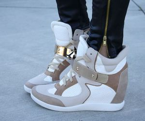 fashion, shoes, and wedge sneakers image