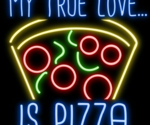 pizza love true image