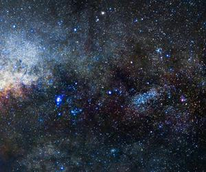 galaxy, background, and stars image