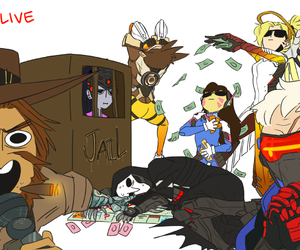 fanart and overwatch image