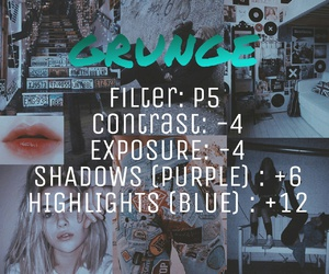 grunge and vsco filters image