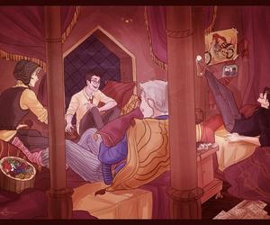 sirius black, james potter, and remus lupin image