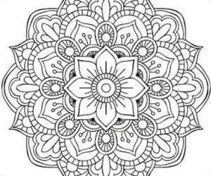 mandala, drawing, and arte image