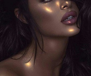 makeup, beauty, and glow image