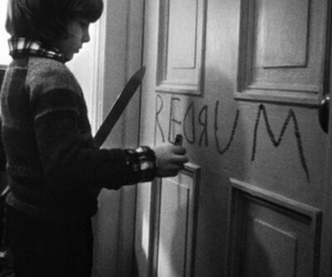 The Shining, redrum, and murder image