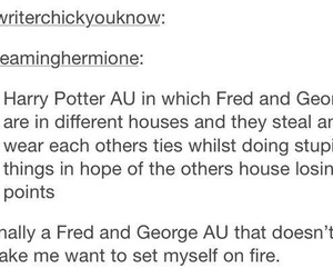 books, fandom, and Fred image