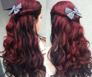 bow, red, and love image