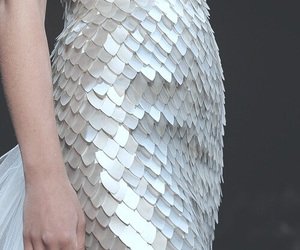 fashion, dress, and silver image