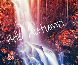hello autumn october image
