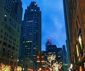 city, nightlife, and love image
