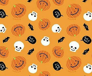 Halloween, wallpaper, and pumpkin image