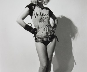 debbie harry, blondie, and black and white image