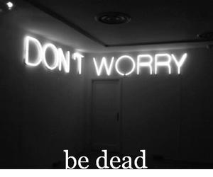bad, death, and dark image
