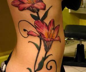 beautiful, feminine, and flower image