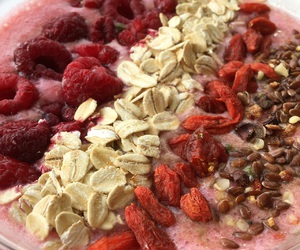 chia seeds, fruit, and healthy image