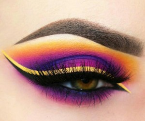 beauty, makeupartist, and eye image