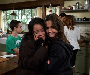 the fosters, sisters, and maia mitchell image