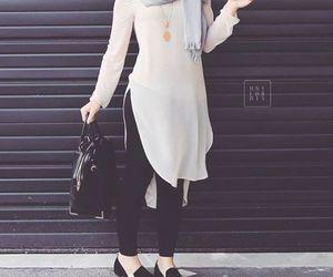 long tunic hijab outfit image