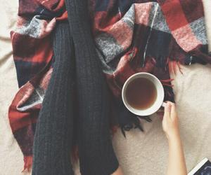 autumn, cozy, and tea image