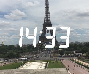 paris, time, and snapchat image