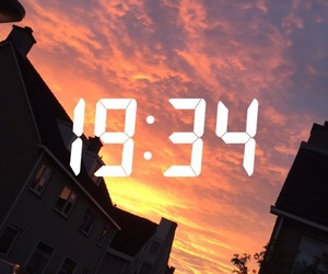 sky, time, and snapchat image