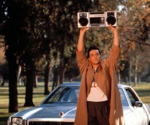 Say Anything, 80s, and boombox image