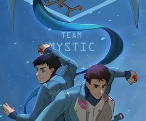 team mystic and drawing image