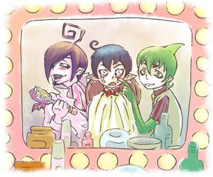 funny, mephisto, and rin image