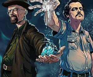 narcos, breaking bad, and pablo escobar image