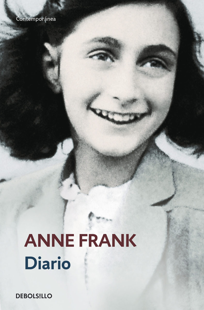 anne frank, book, and books image