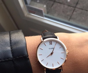 fashion, watch, and time image