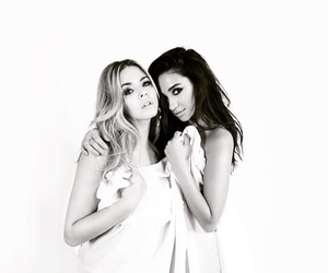 shay mitchell, pll, and sasha pieterse image