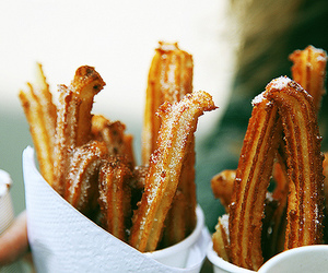 churros, food, and sweet image