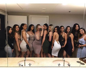 girl, goals, and squad image