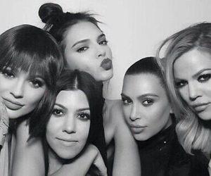 kim kardashian, kylie jenner, and kourtney kardashian image