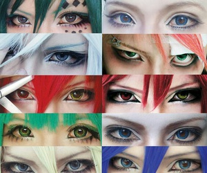 cosplay and eyes image