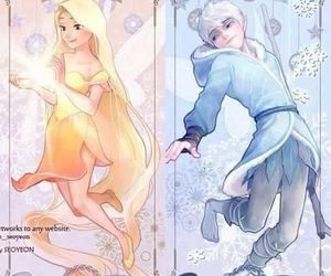 jack frost, rapunzel, and the big four image