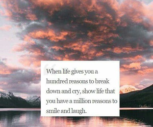 life, smile, and strong image