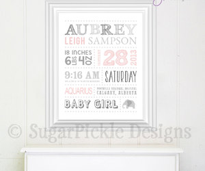 baby art, keepsake, and baby shower gift image