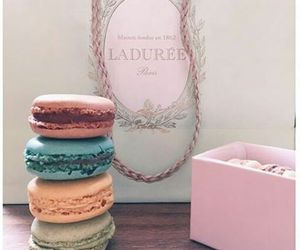 colors, yummy, and ‎macarons image