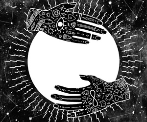 hands, ability, and lunar phases... image