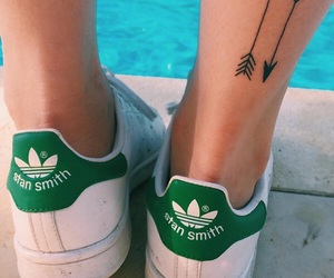tattoo, adidas, and arrow image