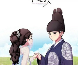 kim yoo jung, love in the moonlight, and park bogum image