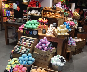 colors, lush, and store image