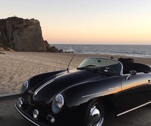 beach and black image